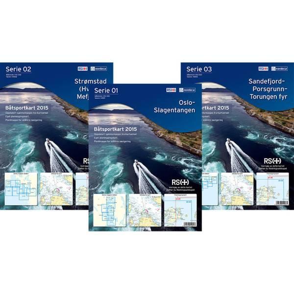 Bilde av Båtsportkart Serie 03 Sandefjord-Torungen