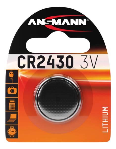 Bilde av Lithium batteri CR2430, 1-pk
